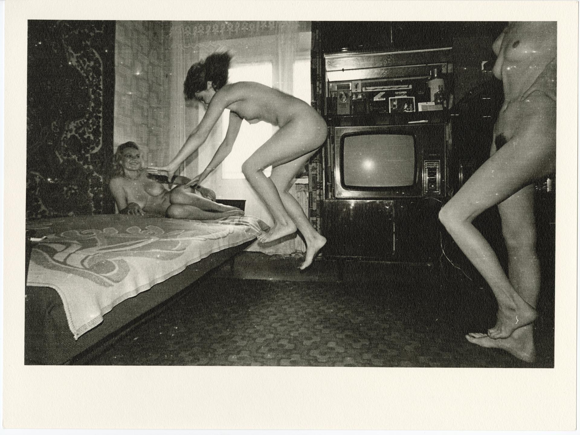"""Роман Пятковка, """"Відьмацький шабаш"""", 1988, срібно-желатиновий друк."""