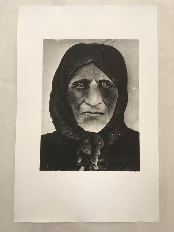 """Роман Пятковка, """"Фантом 30-х років. Голодомор"""", 1988, срібно-желатиновий друк"""