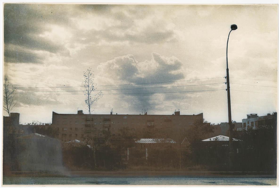 Міські мотиви з хмарами 1