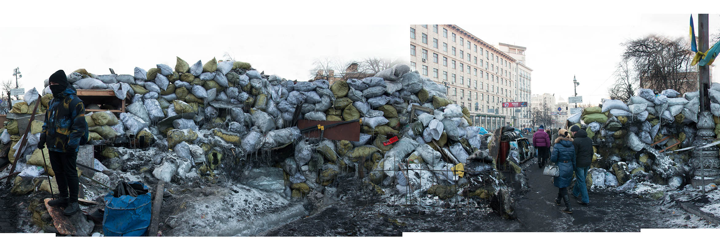 "Fragment of ""Barricade"" project"